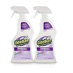OdoBan Odor Eliminator & Disinfectant Ready-to-Use, Lavender Scent (32 oz., 2 pk.)