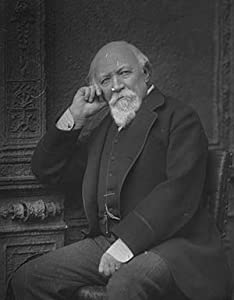 Photo English Author Poet Robert Browning. 1872
