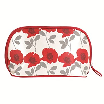 Best Cheap Deal for Accessories By Upper Canada Train Case Cosmetic Bag, Red Poppy Flower by Accessories by Upper Canada - Free 2 Day Shipping Available