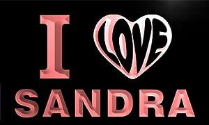 Amazon.com - vg0016-r I LOVE YOU SANDRA Wedding Gift Night Light Room