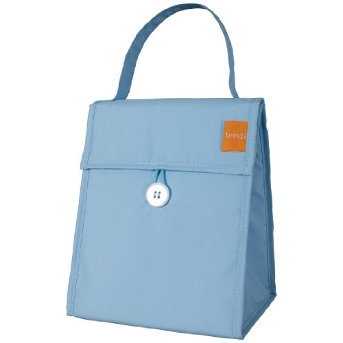 Bring It Embarcadero Foldable Lunch Tote, Blue - 1