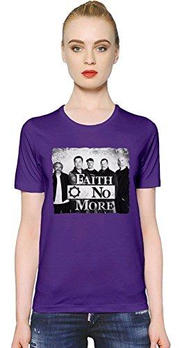 Faith No More Band T-shirt donna Women T-Shirt Girl Ladies Stylish Fashion Fit Custom Apparel By Genuine Fan Merchandise Medium
