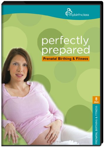 Perfectly Prepared Prenatal Class (5 Dvds 4 Audio Cds) Childbirth Education DVD with Yoga, Relaxation, Learn about Labor and Delivery, Breathing Techniques, Post Partum Recovery, Birth Options, Pain Management, Toning, Nutrition in Pregnancy, Postpartum Weight Loss, Natural Child Birth Video