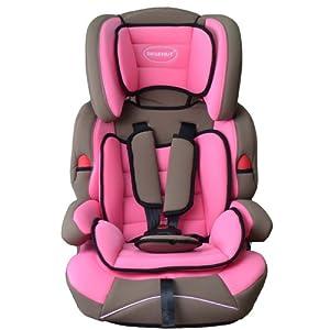 BEBEHUT Silla de coche para niños - Grupos I/II/III pesos de 9-36kg rosa/gris BAB001-H05 en BebeHogar.com