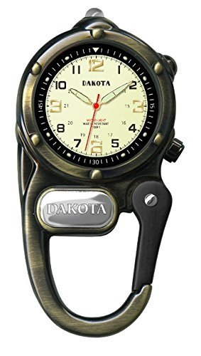 dakota-watch-company-watch-mini-clip-with-microlight-antique-gold-by-sportsman-supply-inc