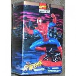Marvel Comics Snap Together Spiderman Model Kit