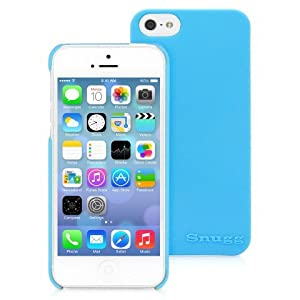 Snugg iPhone 5 / 5S Case - Ultra Thin Case with Lifetime Guarantee (Sky Blue) for Apple iPhone 5 / 5S