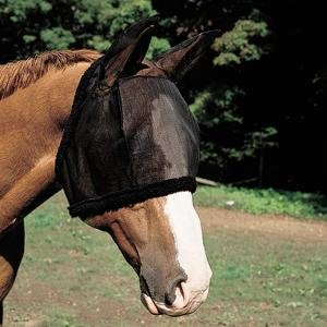 Weaver Fly Mask with Ears - Size:Medium Color:Black