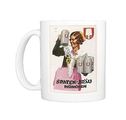 Photo Mug Of Spaten Brau Publicity 2 (Spaten Beer compare prices)
