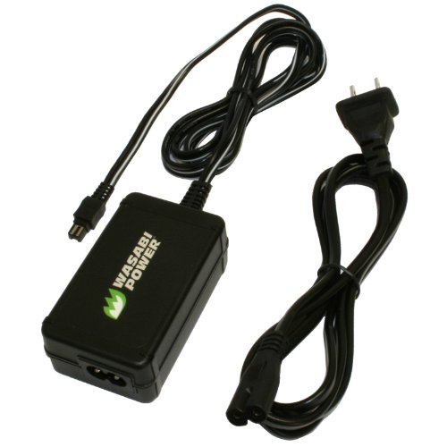Wasabi Power AC Adapter for Sony AC-L200, AC-L200C,
