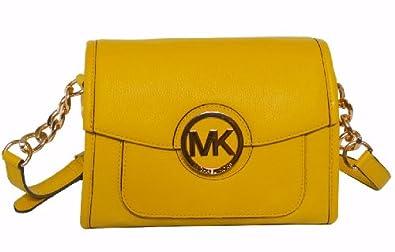 Michael Kors Leather Margo Messenger Shoulder Bag 72