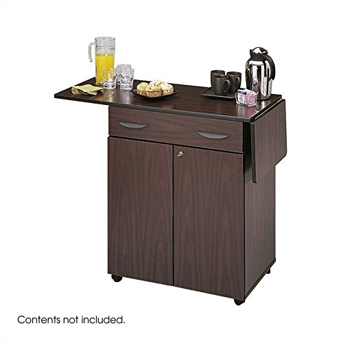 Safco Hospitality Serving Cart With Lock