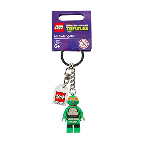 LEGO Teenage Mutant Ninja Turtles Michelangelo Key Chain - 1