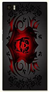 Remarkable multicolor printed protective REBEL mobile back cover for Xiaomi Mi 3 D.No.N-T-2061-XM3