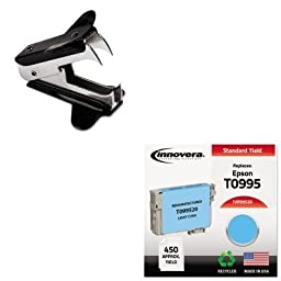 KITIVR99520UNV00700 - Value Kit - Innovera Compatible Remanufactured T099520 98 Ink (IVR99520) and Universal Jaw Style Staple Remover (UNV00700)