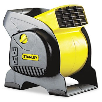 Lasko 655702 Three-Speed High-Velocity Blower Fan, Black and Yellow