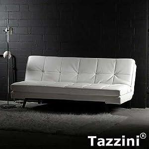 marken design sofa schlafsofa tazzini wei breite. Black Bedroom Furniture Sets. Home Design Ideas