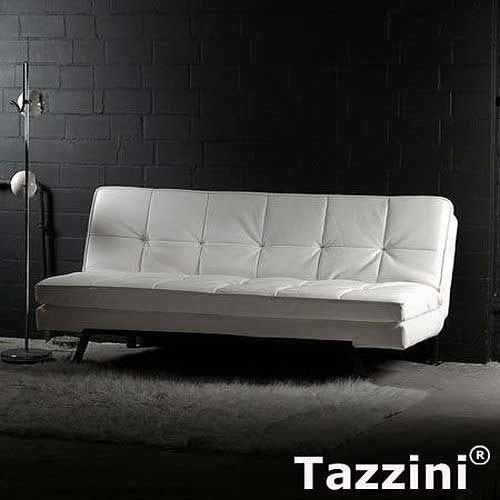 Marken Design Sofa | Schlafsofa TAZZINI, weiß, Breite 190cm