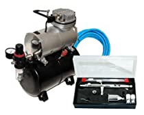 Hot Sale MASTER Airbrush SB88 Pro Set with TC-20 T Air Compressor with Tank