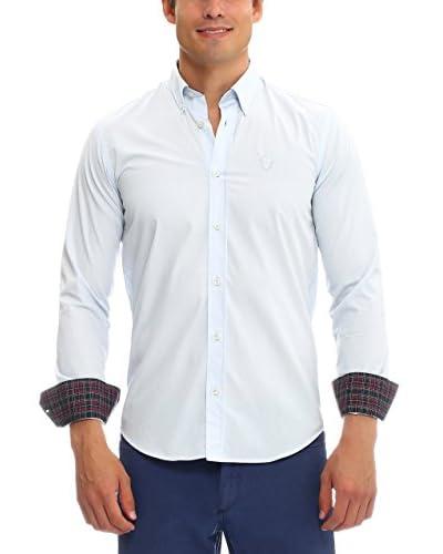 Galvanni Camisa Hombre Halus Azul Claro