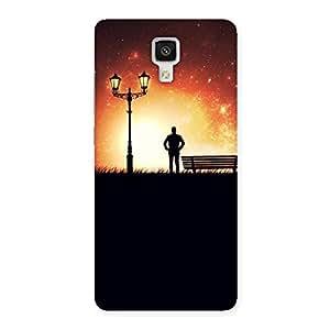 Delighted Evening Multicolor Back Case Cover for Xiaomi Mi 4