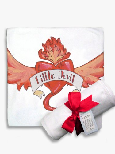 Light of Mine Designs Little Devil Receiving/Swaddling Blanket