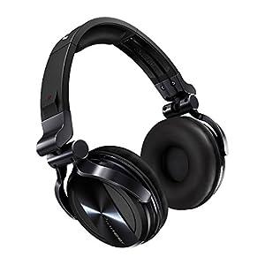 Pioneer HDJ-1500-K Professional DJ Headphones - Black Chrome