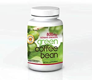 Diet Pill And Fat Burner Ultimate Strength Green Coffee Bean Extract 800mgs With 50 Chlorogenic Acids This Vegetarian Capsule Is 100 Pure Made In The Usa In Fda Registered Labs With No Fillers Dr Oz Calls It The Magic Weight Loss Pill For Every Body Type