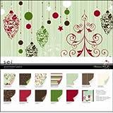 Scrapbook Paper Christmas Mint Assortment Pack
