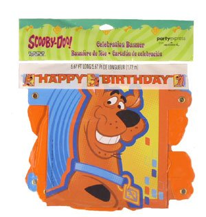 Scooby Doo Fun Times Party Banner - 1