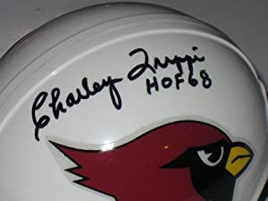Charley Trippi Autographed Arizona Cardinals Mini Helmet JSA COA by Miller