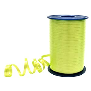 Morex Ribbon 3/16-Inch by 500-Yard Spool Crimped Curling Ribbon, Lime Green