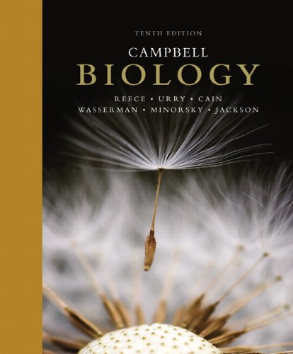 Campbell Biology 10th Edition By Jane B Reece Lisa A Urry