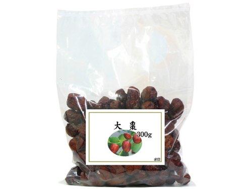 大棗300g タイソウ なつめ 種実 乾燥