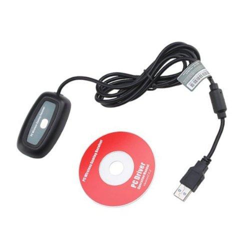 Giftoyou(Tm) Premium Wireless Gaming Receiver For Microsoft Xbox 360(Black)