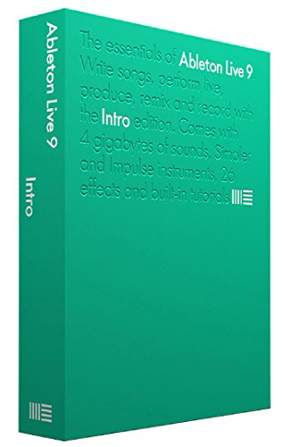 Ableton Live 9 Intro Ableton Live 9 Intro DJ and Mixing Software with Sound Library
