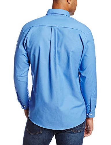 Dickies occupational workwear ss36fb 195rg polyester for French blue oxford shirt