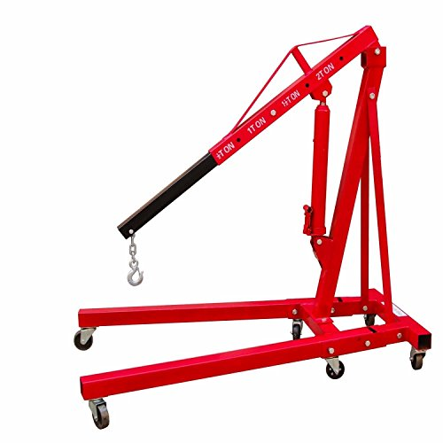 Best Price! 2 Ton Engine Hoist Folding Picker Shop Crane Auto Car Shop