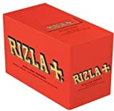 Box of Red Rizla Cigarette Papers standard.