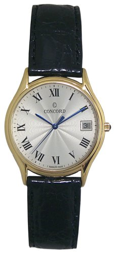 Concord Bennington 18K Solid Gold Men's Watch - 0310656
