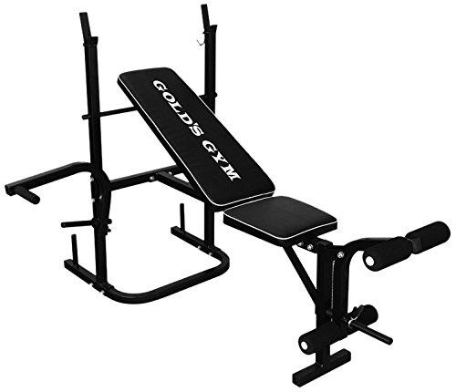 Gold'S Gym Panca Multifunzione Per Fitness - Nero