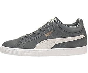 PUMA Men's Stepper Classic Sneaker,Turbulence/White,9 M US