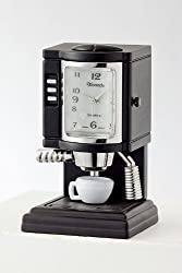 Trendy Fashion Espresso Machine Desk Clock By Fashion Destination from Fashion Destination