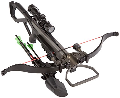 Excalibur Crossbow Micro 335 Crossbow with Nightmare Package/Scope (Draw Weight : 270-Pound), Black, Recurve (Excalibur Crossbow Micro 355 compare prices)