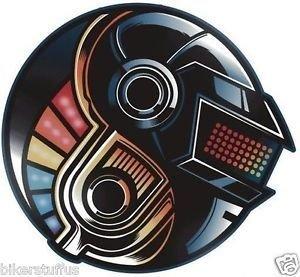 DAFT PUNK STICKER (Daft Punk Decal compare prices)