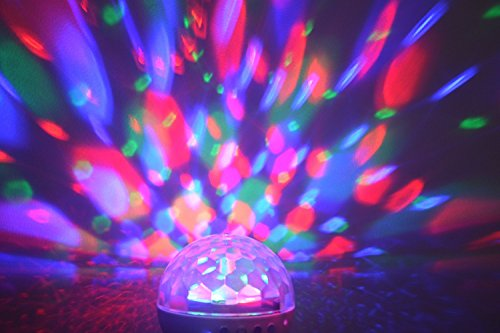 effect strobe led blingco party rotating lights product ball disco lighting laser stage sound activated dj magic