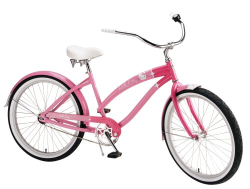 Nirve Hello Kitty Special Edition Retro Kitty Women's Cruiser Bike