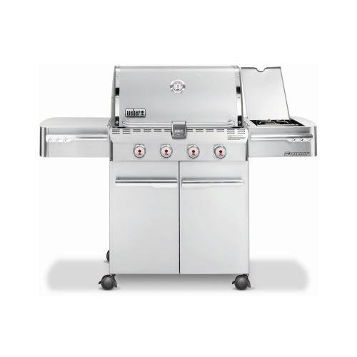 Weber Summit 7220001 S-420 Stainless-Steel 650-Square-Inch