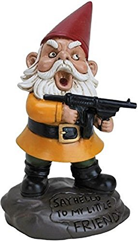 Big Mouth Toys Scarface Gnome Garden