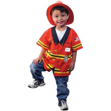 AEROMAX - My First Career Gear - Firefighter Toddler Costume - Toddler 3/5